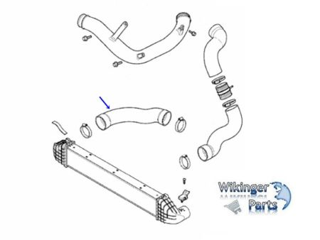 Volvo Charge Air Hose 31370705 › Wikingerparts