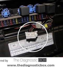 diagnostic socket locatornissan cabstar 2007 u003e 2013 inside fuse box panel report issue [ 1440 x 1080 Pixel ]