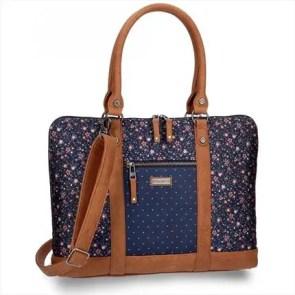 bolso mujer azul