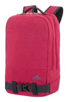 mochila portatil roja