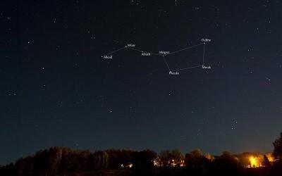 Constelacion de la Osa Mayor