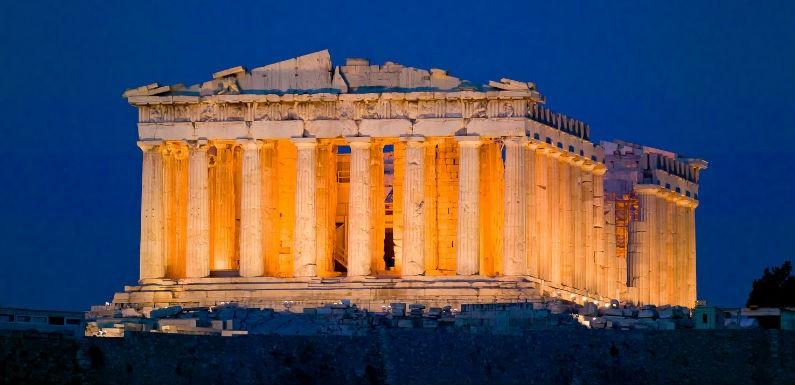 El Partenon de Atenas