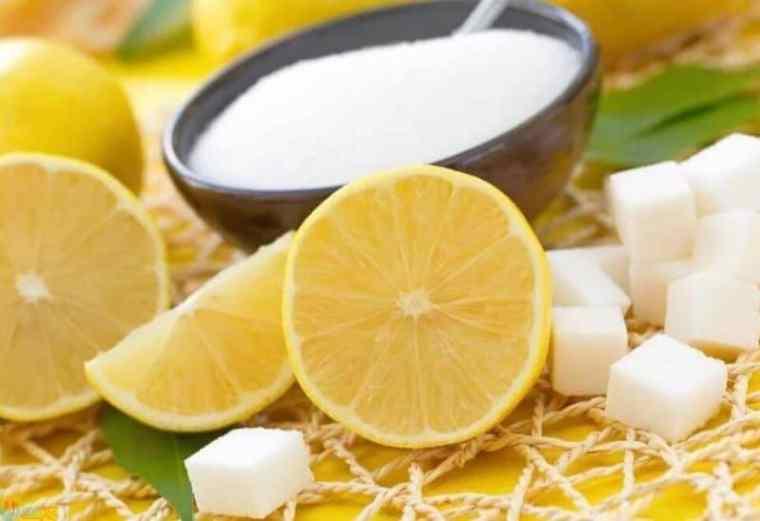 طريقة استعمال الليمون والسكر للوجه