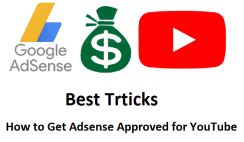 How to Get Adsense Approved for YouTube-www.wikishout.com