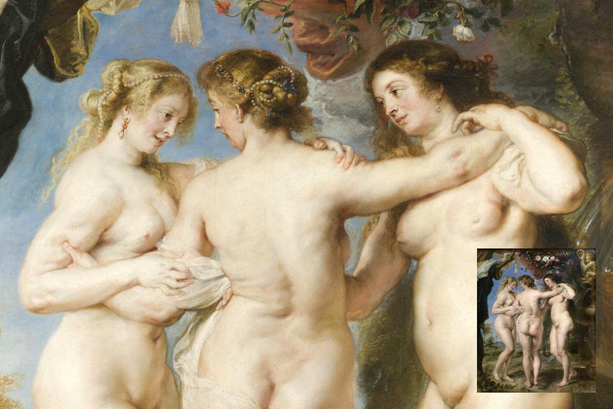 El Prado – De Drie Gratiën Van Peter Paul Rubens