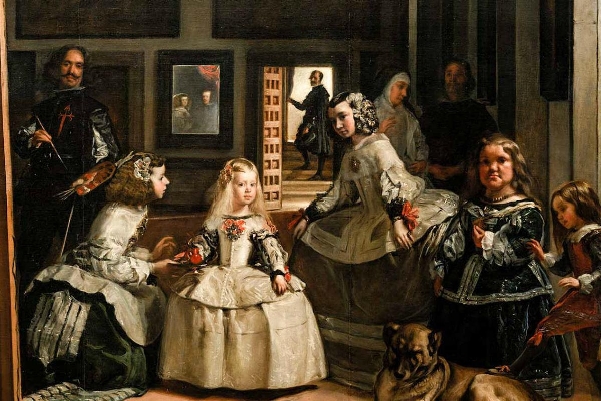 El Prado – Las Meninas Van Diego Velázquez