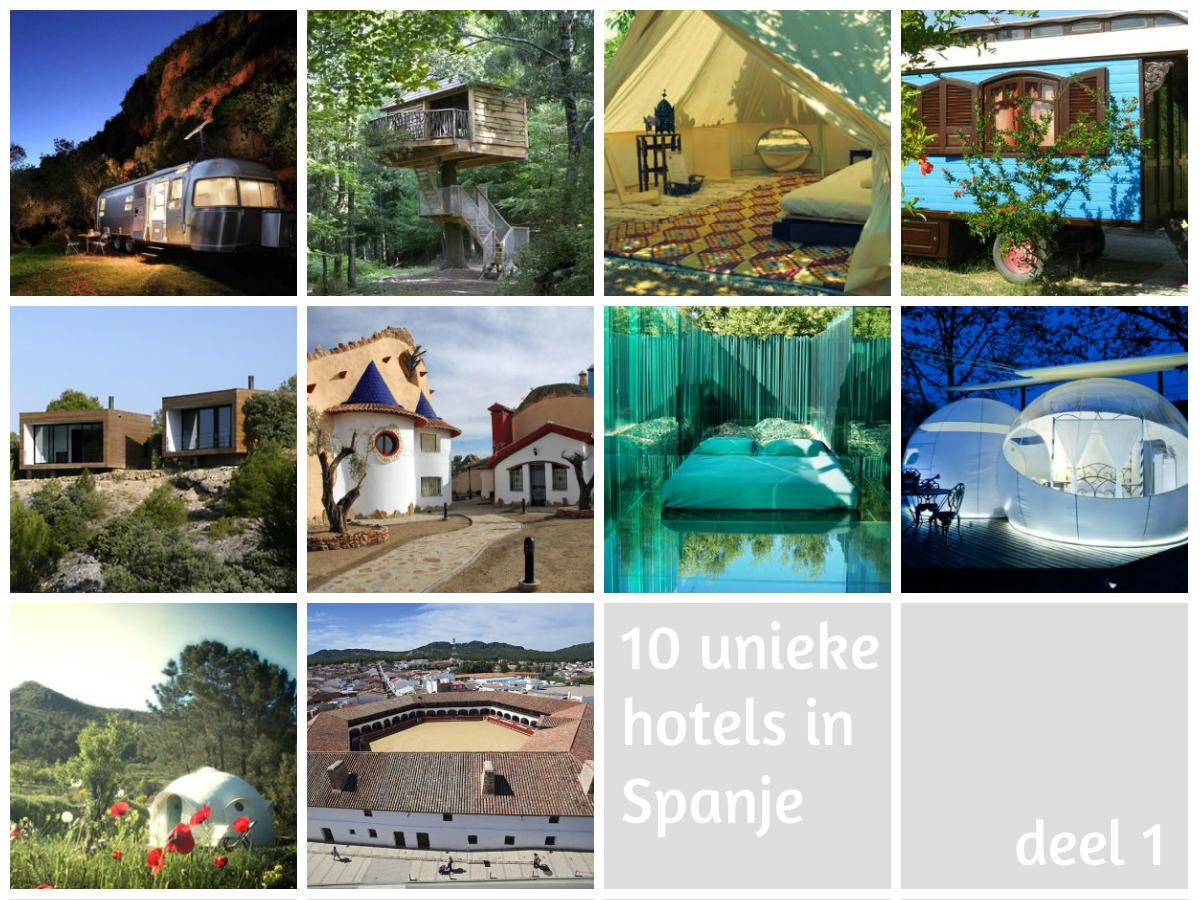 10 Unieke Hotels In Spanje (deel 1)