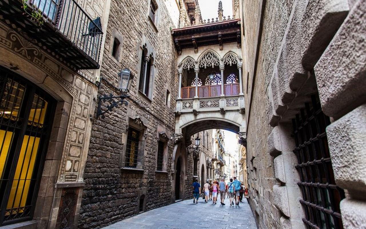 Barrio Gotico, Barcelona – Foto Bok Yoon
