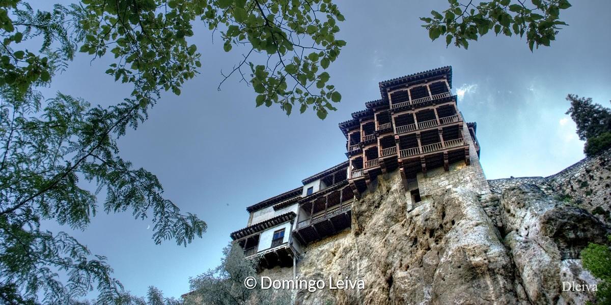 Casas colgadas, Cuenca, Castilla la Mancha – foto Domingo Leiva