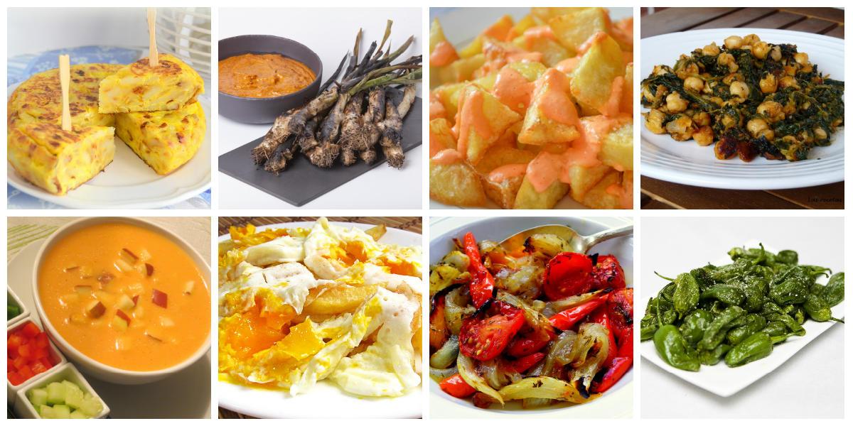 Vegetarische Spaanse gerechten