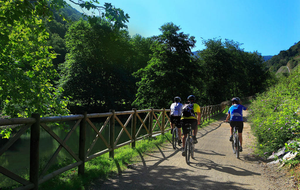 """Leer de """"Via verdes"""" of groene wegen over oude spoorlijnen in Spanje kennen"""