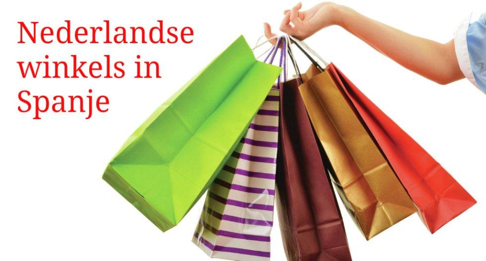 Kort Overzicht Van Nederlandse Winkels In Spanje