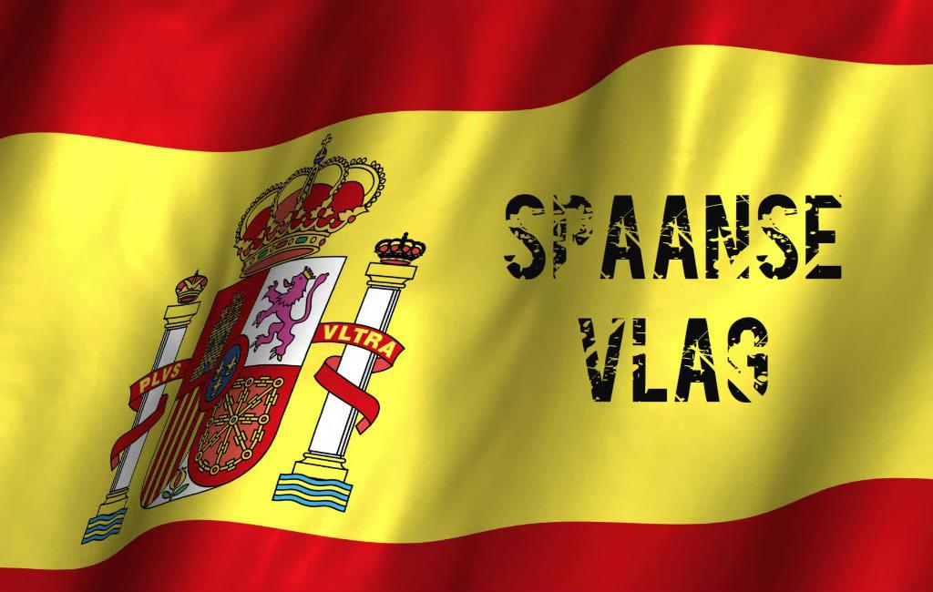 De Vlag Van Spanje Nader Bekeken