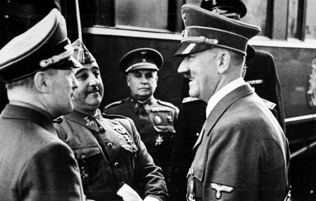Spanje, Franco En De Tweede Wereldoorlog