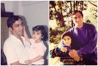 Adah Sharma With Her Father S.L. Sharma