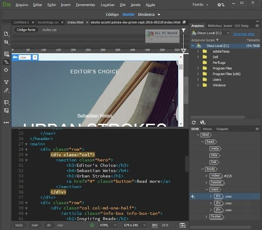 2 Best Free CSS and HTML Visual Editors Software Tools for Your Site