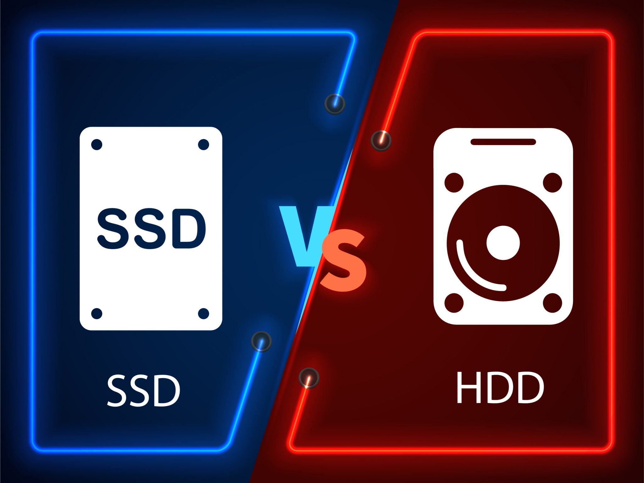 Advantages of SSD over HDD
