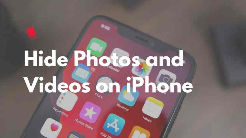How to Hide Photos and Videos on iPhone with password protect