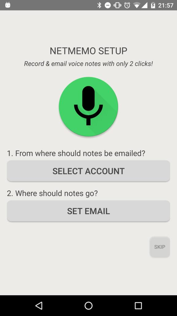 NetMemo Voice Recorder