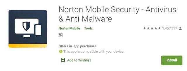 Norton Mobile Security - Antivirus & Anti-Malware
