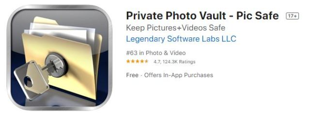 Private Photo Vault - Pic Safe