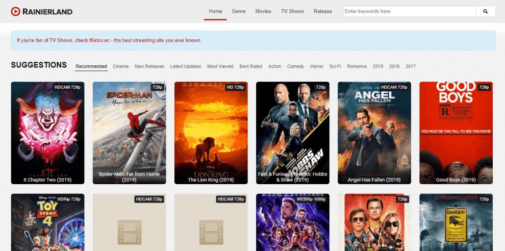 Rainierland Watch Online Movies Rainierland Alternatives