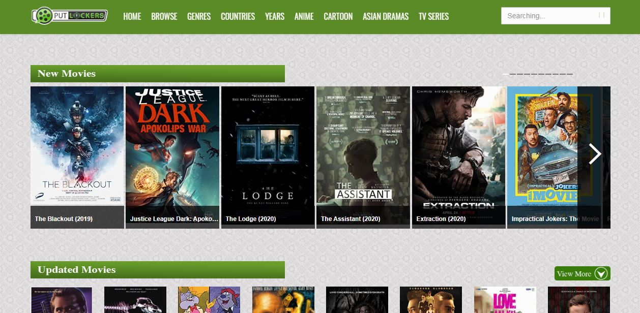 Alternative Putlocker sites like Putlockers for 2020 [100% working]