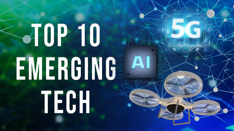 10 Emerging Technologies that will be a reality in 2025