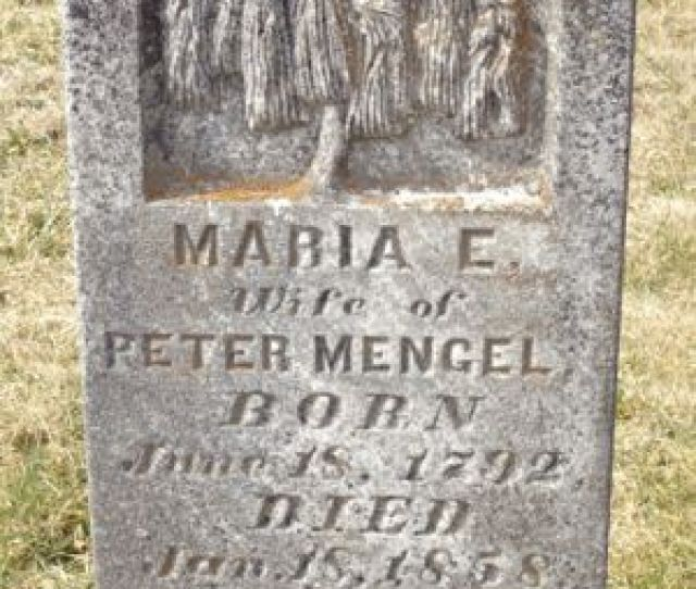 Marie Eve Evans Mengel Saint Johns Cemetery