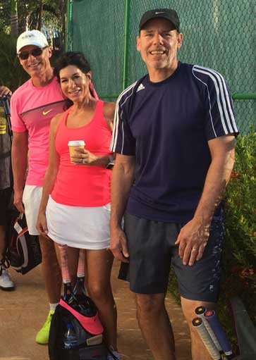 Santa Rosa tennis social