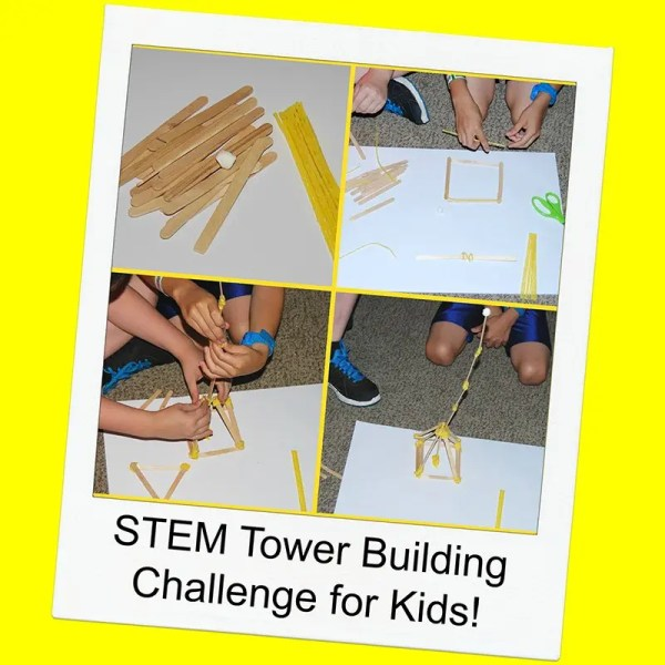 Stem Challenge Tower Building