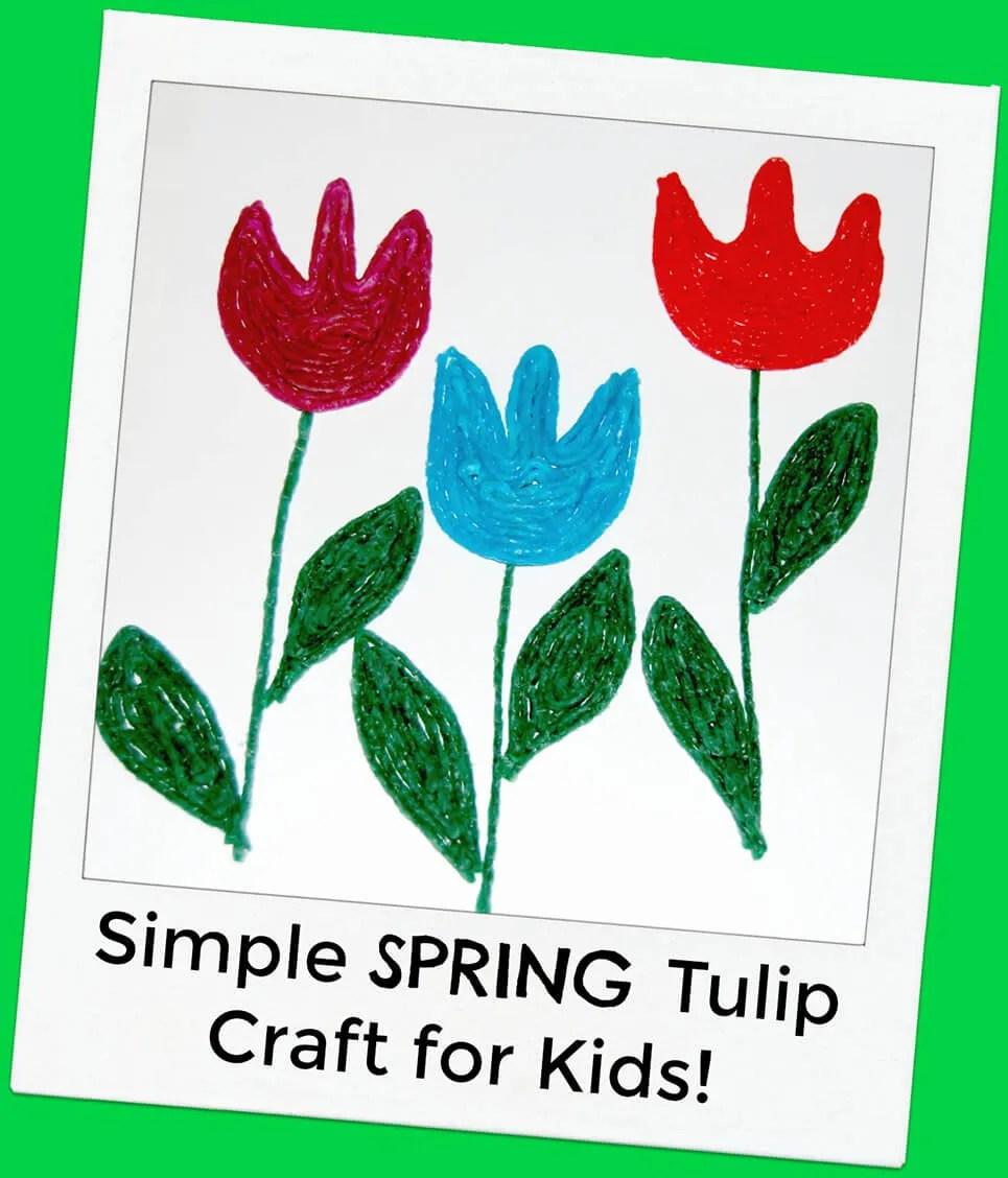 simple spring tulip crafts