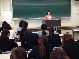 学園大学での講義2