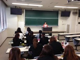 学園大学での講義1