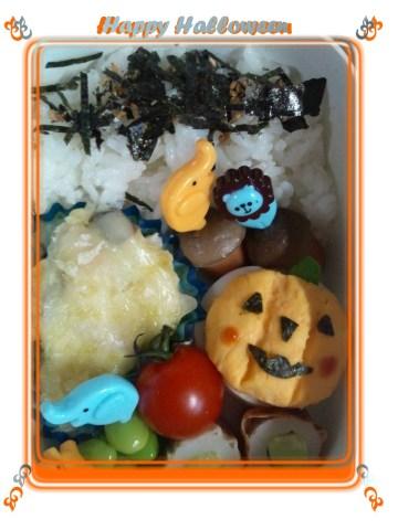 halloween弁当