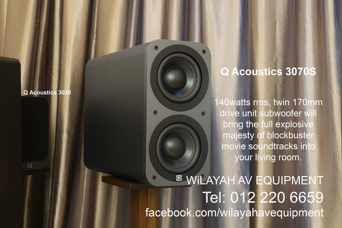 Q Acoustics Q3020 Stunning Q Acoustics Speaker Package