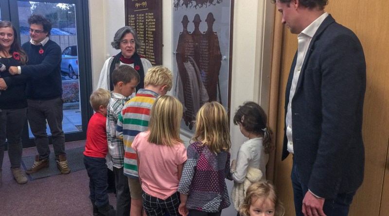 Dedication of the New Plaque