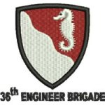 36th Engineer Brigade embroidery design