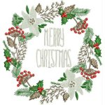 Merry-Christmas2 embroidery design