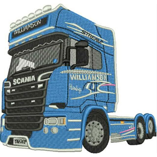 Scania Truck 200707 Embroidery Design