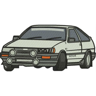 Toyota embroidery design