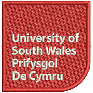 Myriad Pro Bold font in Uni of South Wales EMB design