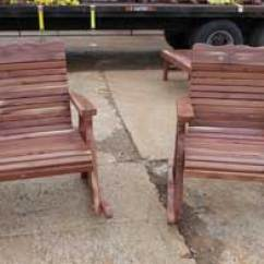Cedar Rocking Chairs Double Reclining Chair Furniture For Sale Rusk East Texas