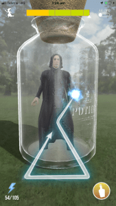 Screenshot of Harry Potter showing Snape