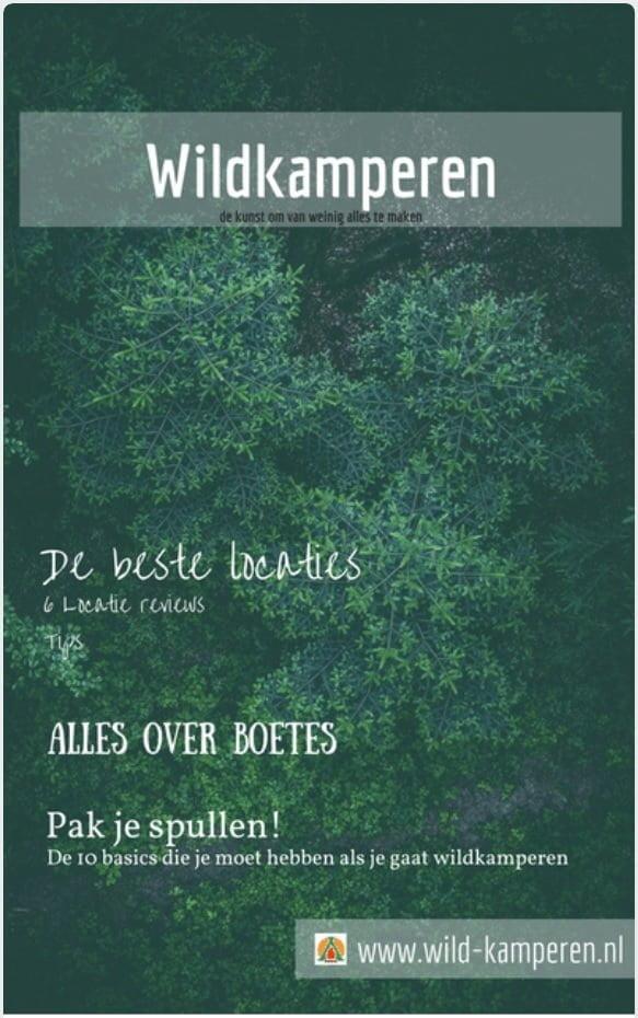 Nieuw gratis magazine Wildkamperen