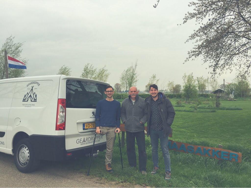 Wild-kamperen.nl aanwezig bij uniek kampeerevent