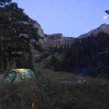 Wildkamperen in Zwitserland: Col de Jaman