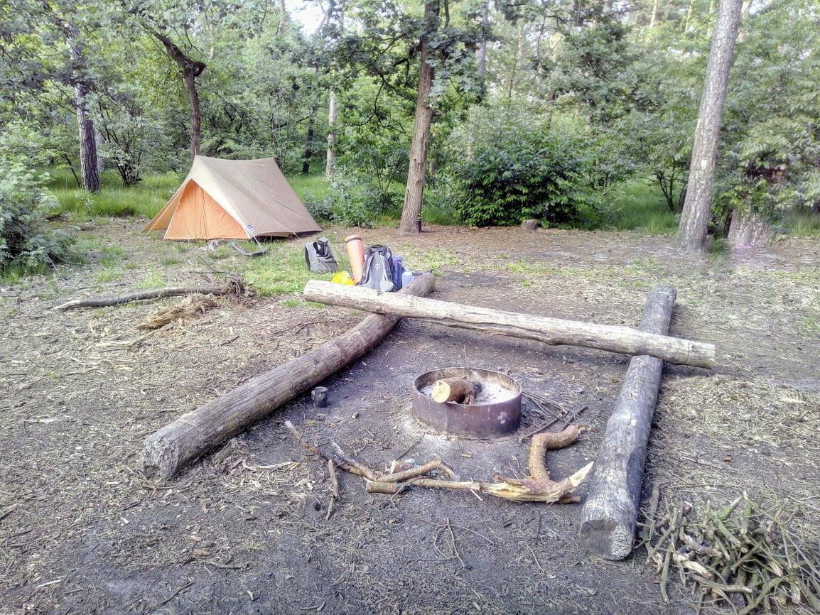 Gastblog: wildkamperen in een 40 jaar oude tent
