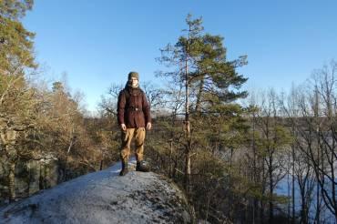 Hiken in de Zweedse natuur