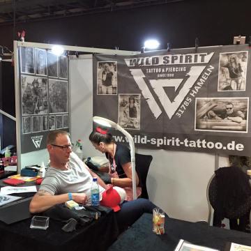 Tattoo Convention Hildesheim mit Wild Spirit